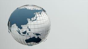 Rotating globe. Seamless loop. Rotating globe. Seamless looping 4K stock video
