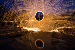 Rotating lights Royalty Free Stock Image