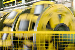 Rotating machines. stock image