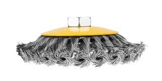 Rotating metal brush Stock Photography