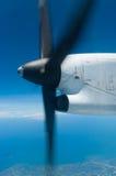Rotating propeller Stock Photo