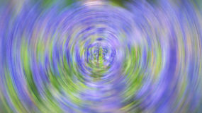 Rotating Purple blur Stock Photography