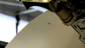 Rotating radar stock video footage