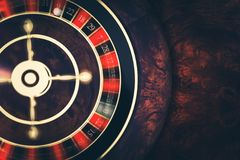 Rotating Roulette at Play Royalty Free Stock Photography