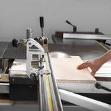 Rotating saw blade Royalty Free Stock Photography