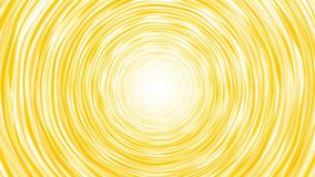 Rotating tornado yellow hand drawn stock footage