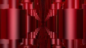 Rotating valves in red stock footage