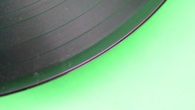 Rotating vinyl record. Closeup. Vintage vinyl record. Rotating vinyl record. Closeup. Vintage vinyl record stock video