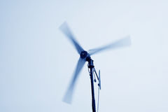 Rotating wind turbine Royalty Free Stock Photos