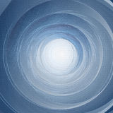 Rotation. Abstract blue background. Royalty Free Stock Images