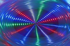 Rotation abstraite de lumière de disco, discothèque, photographie stock