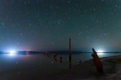 Rotation d'étoiles sans réservation photo stock