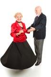 rotation d'aînés de danse Images libres de droits