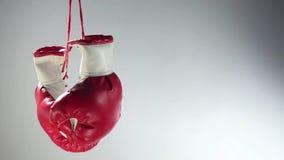 Rotation de gants de boxe