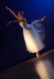 Rotation de mouvement de ballerine photographie stock