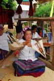 Rotation de résidantes de dame âgée. Images libres de droits