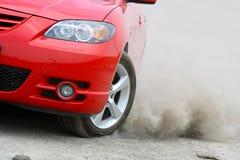 Rotation de véhicule photos stock
