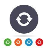 Rotation icon. Repeat symbol. Refresh sign. Stock Image