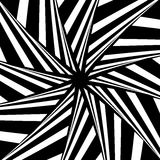 Rotation illusion. Abstract design. Stock Images