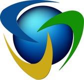 Rotation logo Stock Image
