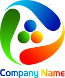 Rotation logo Stock Photo