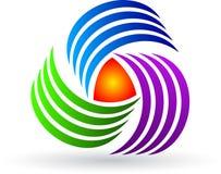 Rotation logo Stock Images