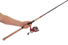 Rotation pour la pêche Photos libres de droits