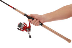 Rotation pour la pêche Photographie stock