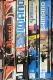 Rotation pour pêcher dans un supermarché photo libre de droits
