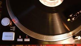 Rotation record sur la plaque tournante clips vidéos