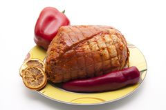 Rotation roast Royalty Free Stock Images