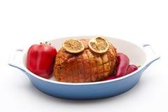 Rotation roast seasoned Royalty Free Stock Image