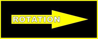 Rotation Sign Royalty Free Stock Photo