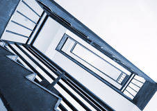 Rotation of the stairs Royalty Free Stock Photo