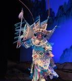 """Rotationen av för Opera"""" för Peking operaPeking generaler kvinnor av Yang Familyâ € arkivfoto"""