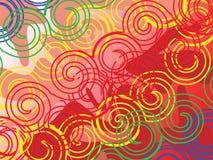 Rotationhintergrund Stockbilder