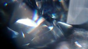 Rotator Diamond Macro stock video footage
