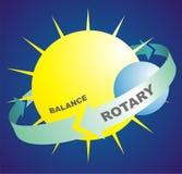 Rotatorio y balance Foto de archivo
