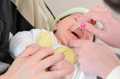 Rotavirus vaccine - virus immunisation Royalty Free Stock Images