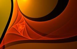 Rotazione arancione Immagine Stock