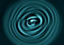 Rotazione azzurrata Immagine Stock