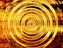 Rotazione del flash luminoso di esplosione scoppio del fuoco Fotografie Stock Libere da Diritti