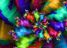 Rotazione della gamma di colori Immagini Stock Libere da Diritti