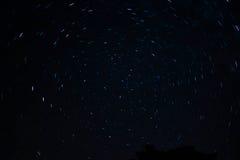 Rotazione della stella Fotografia Stock Libera da Diritti