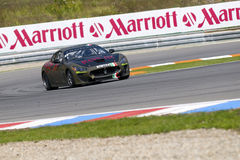 Rotazione di Sergio nell'azione alla FIA WTCC Trofeo GranTuris Immagine Stock Libera da Diritti