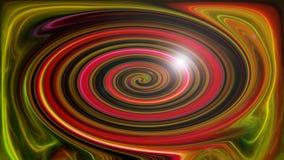 Rotazione saturata estratto dei colori Fotografie Stock
