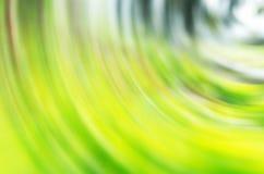 Rotazione verde dell'estratto di tono Fotografie Stock