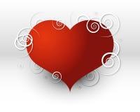 Rotazioni del cuore Fotografia Stock Libera da Diritti