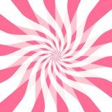 Rotazioni luminose del nastro di colore rosa caldo Immagine Stock Libera da Diritti