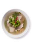 Rotbarschfische tomyam Stockfotografie
